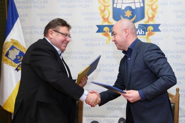 Очільник Тернополя та голова Байковецької ОТГ підписали Меморандум про співпрацю