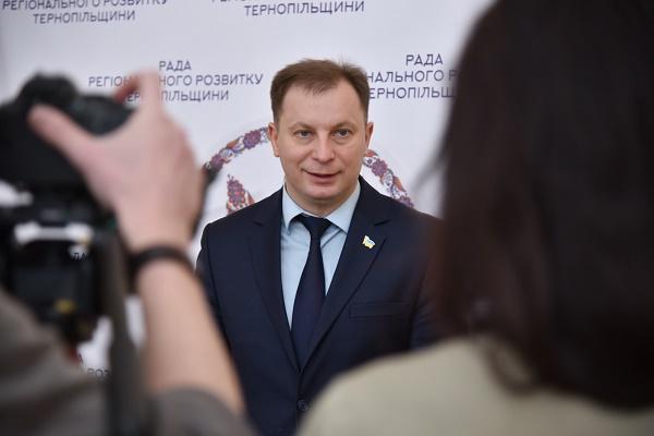 Голова Тернопільської ОДА Степан Барна запросив громадськість до обговорення проекту плану перспективного розвитку області на 2019-2021 рр