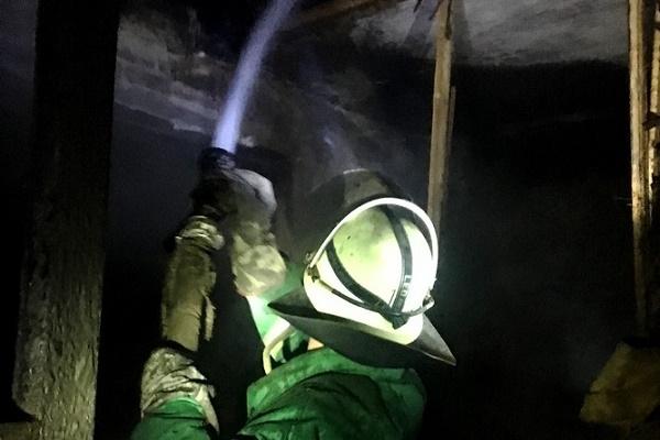 У Лановецькому районі через недбальство згоріло півхати