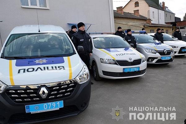 Автопарк тернопільських поліцейських охорони поповнили 4 автівки
