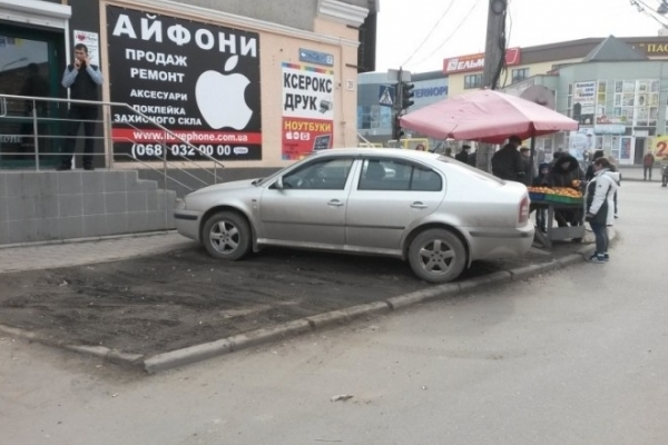 Перші результати роботи тернопільських інспекторів з паркування