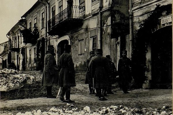 Мешканці Підгайців 100 років тому