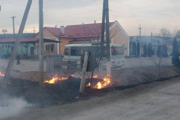 У Бережанах на Тернопільщині ледве не підпалили автовокзал