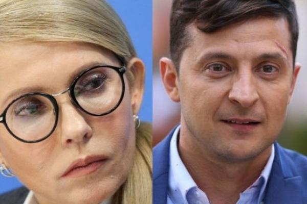 У другому турі виборів зустрінуться Тимошенко і Зеленський - соціологія