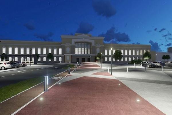 У Тернополі реконструюють площу перед вокзалом. Як вона виглядатиме?