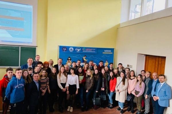 Презентація бізнес-курсу MESH відбулася для студентів ТНПУ