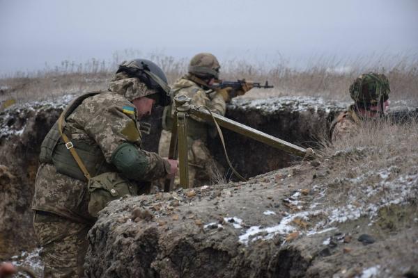 Тернопільські артилеристи провели тренування артилерійської розвідки в бою