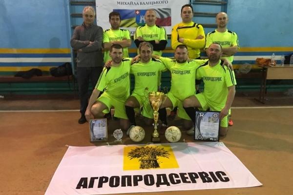 «Агрон-Агропродсервіс» – переможець міжнародного ветеранського турніру в Кременці