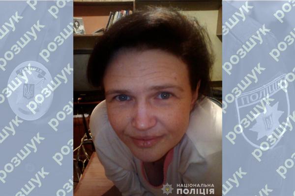 У Тернополі вийшла з дому і безслідно зникла жінка
