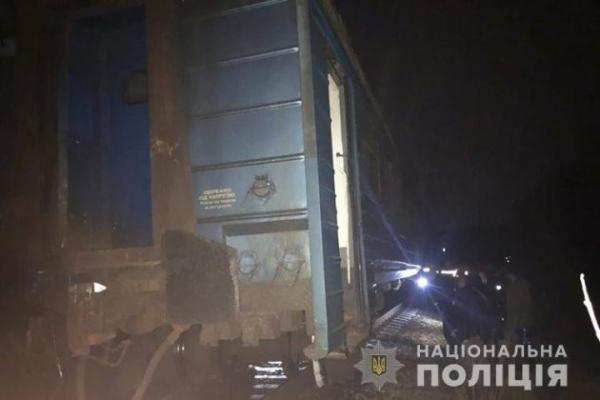 На Тернопільщині потяг з пасажирами зійшов з рейок