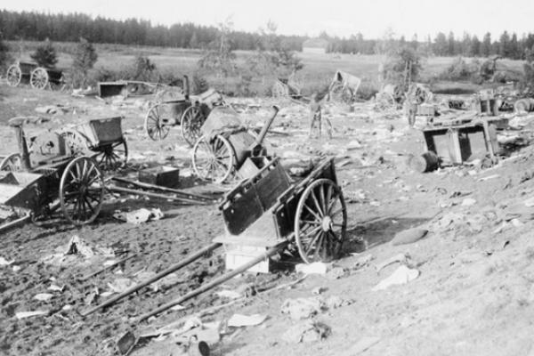 Тернопільщина на фото 1917 року