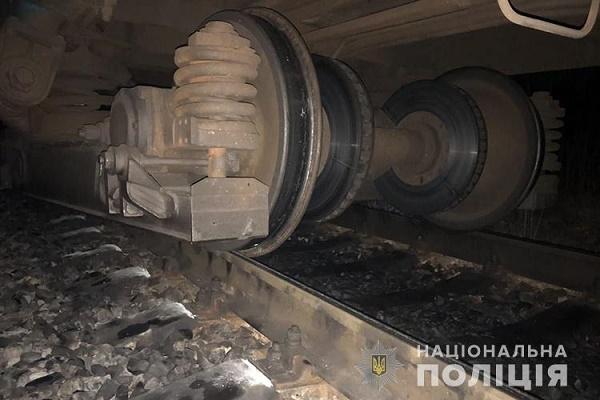 Зійшов з рейок потяг Тернопіль-Заліщики