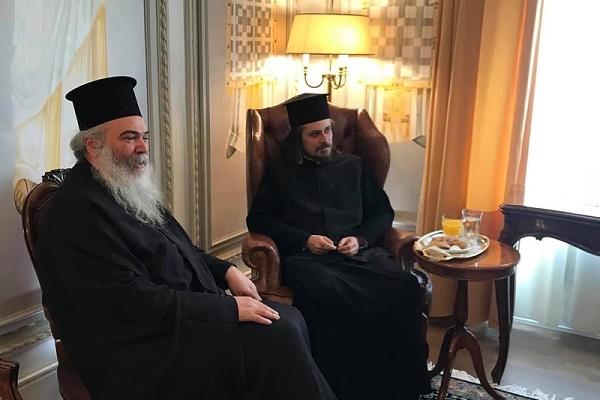 Архієпископ Нестор провів зустріч з екзархом Вселенського Патріарха в Греції