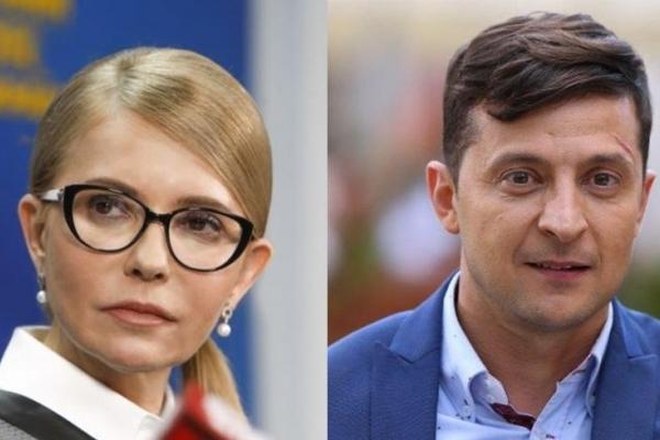 Соціологічний консорціум: Зеленський і Тимошенко зустрінуться у другому турі