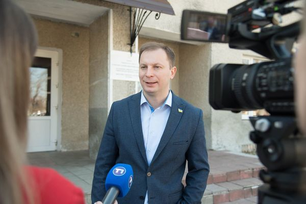 Голова ТОДА Степан Барна проголосував на президентських виборах (Фото)