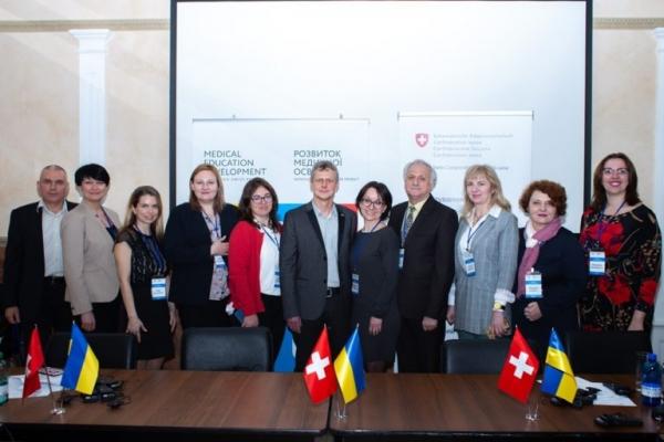 ТДМУ підписав угоду про співробітництво в рамках Українсько-швейцарського проекту «Розвиток медичної освіти»