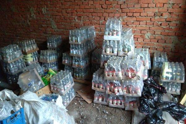 На Тернопільщині з незаконного обігу вилучено алкогольних напоїв на суму понад 3 млн грн
