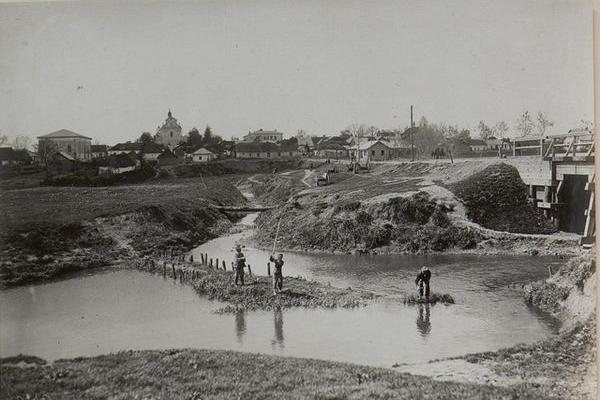 Селище Козлів на столітніх фото