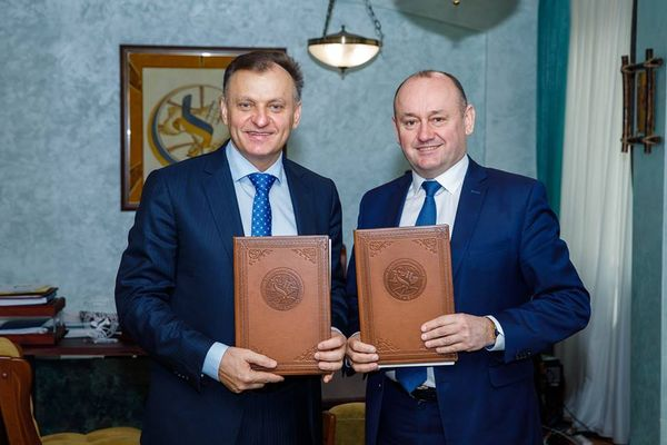 ТНЕУ та БО «Благодійний фонд родини Демкур» підписали меморандум про співпрацю