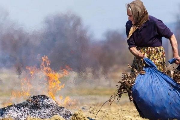 У Лановецькому районі жінка отримала опіки, спалюючи сміття