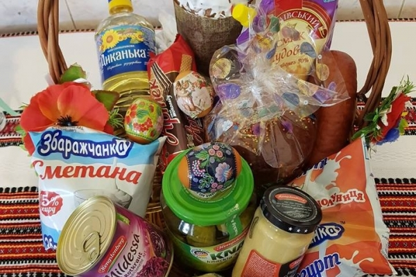 У Тернопільському «Карітасі» збирають продукти до великоднього кошика для малозабезпечених