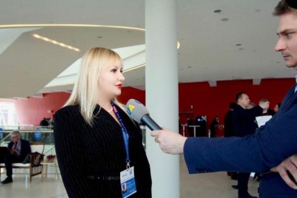 Українська жінка є активною учасницею суспільного та політичного життя, і про це повинні знати в Європі – Ольга Шахін