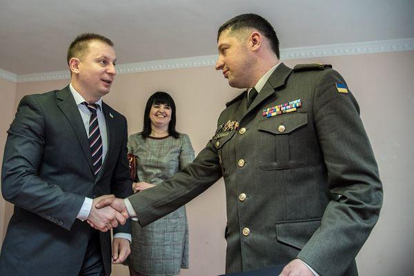 Вадим Ластовицький став новим керівником Тернопільського професійного коледжу з посиленою військово-фізичною підготовкою