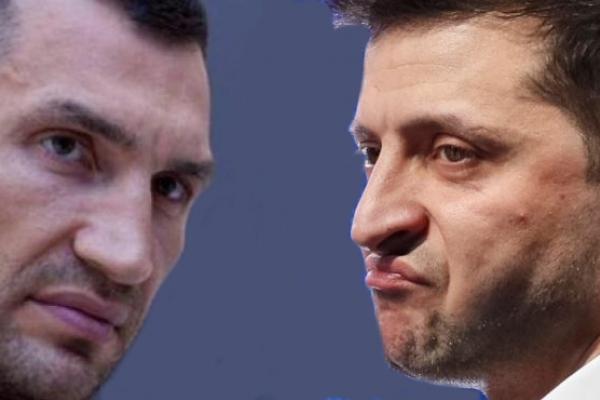 Кличко vs Зеленський: Гордість України проти блазня