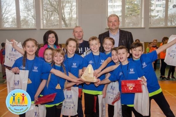Тернопільська команда перемогла в І турі Західноукраїнської ліги за програмою IAAF «Дитяча легка атлетика»