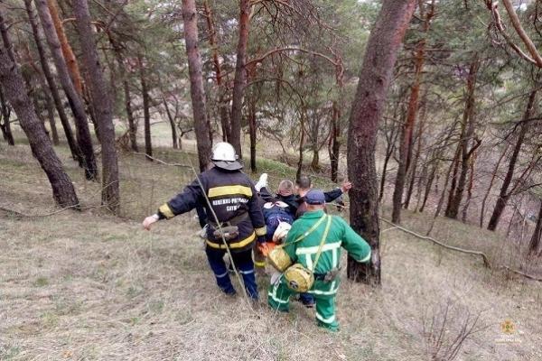 Нещасний випадок на горі Боні у Кременці розслідують поліцейські