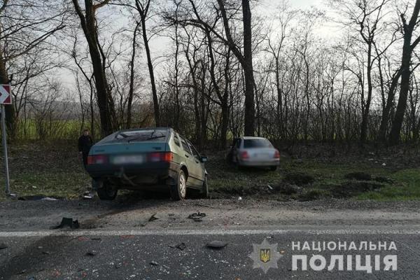 На трасі Тернопіль-Львів дві автівки потрапили в ДТП (Фото)