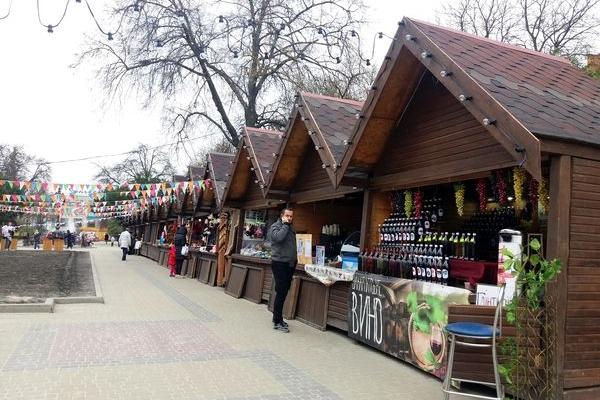 У центрі Тернополя запрацював Великодній ярмарок (Фото)