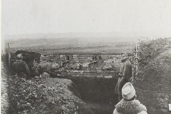 Село Семиківці 100 років тому
