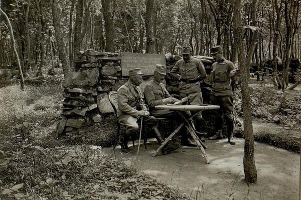 Село Бурканів в роки Першої світової війни