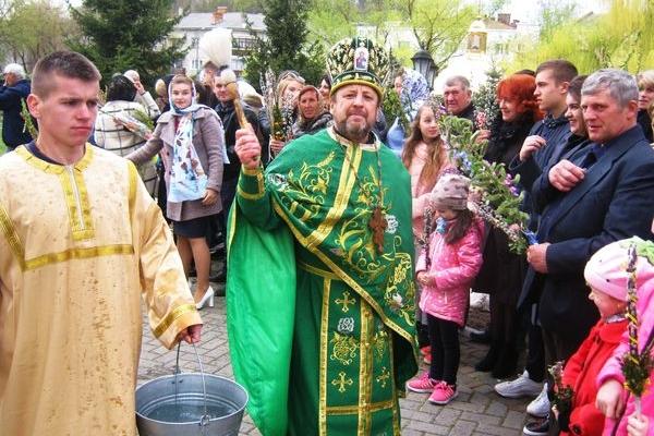 Вербна Неділя в Теребовлі