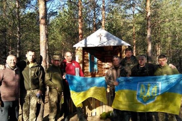 Теребовлянські волонтери відвідали земляків, бійців ЗСУ, на передовій з Великодніми подарунками