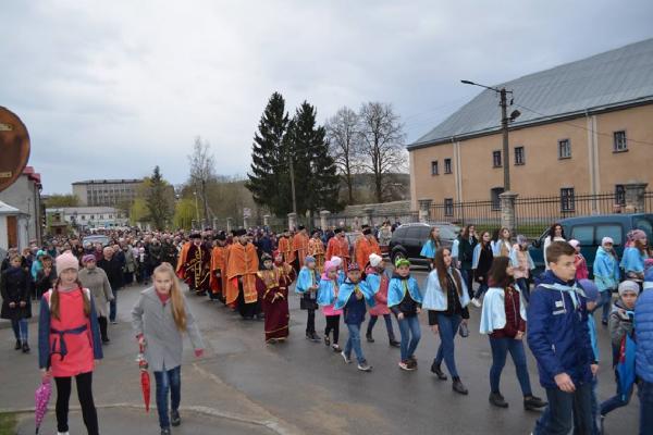 Вулицями старовинного Збаража пройшов Хресний хід (Фото)
