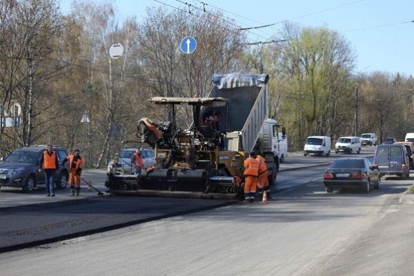 У Тернополі ремонт доріг йде повним ходом