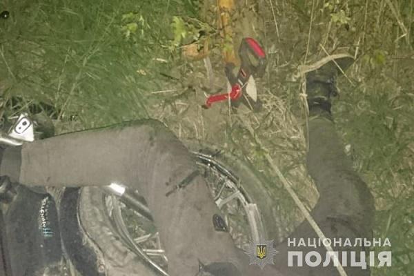 У Борщівському районі загинув мотоцикліст