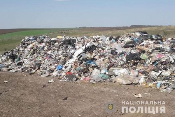 В Бучацький район незаконно звезли львівське сміття
