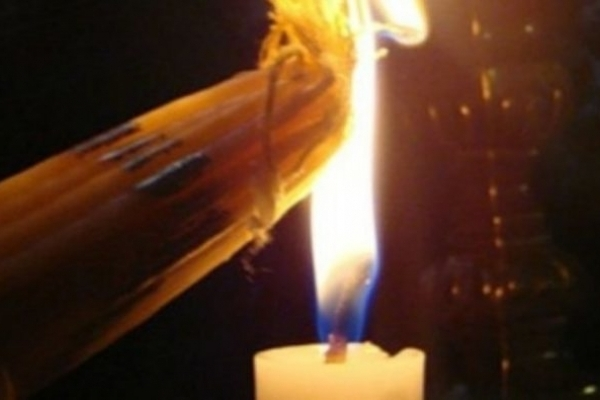 У храмі Гробу Господнього зійшов Благодатний вогонь