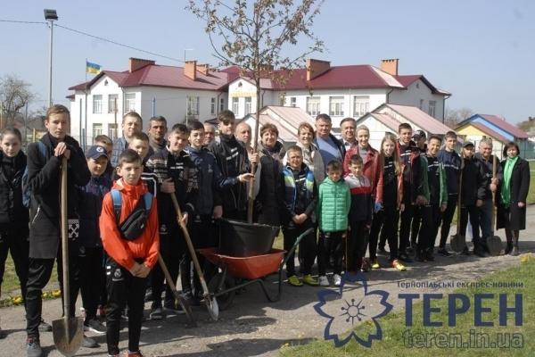 Новий екологічний проект стартував на Тернопільщині (Фото)