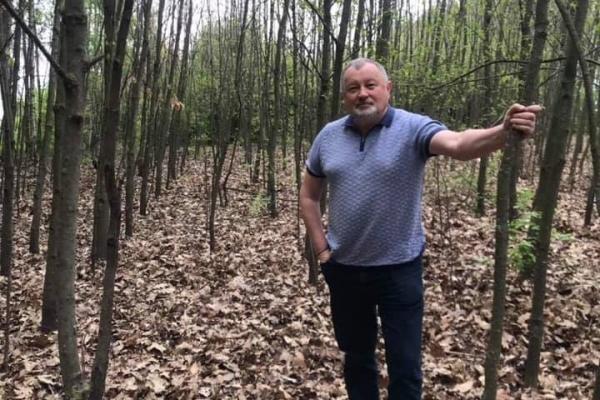 Радник Авакова показав парк, який він висадив на Тернопільщині 17 років тому (Фото, відео)