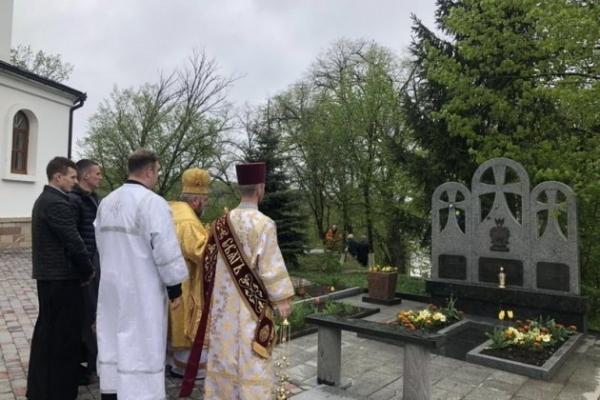 Митрополит Василій з великоднім візитом відвідав Зарваницю