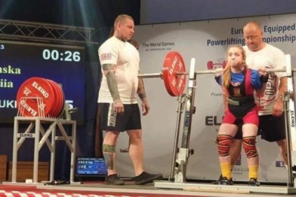 Тернопільська важкоатлетка встановила рекорд Європи