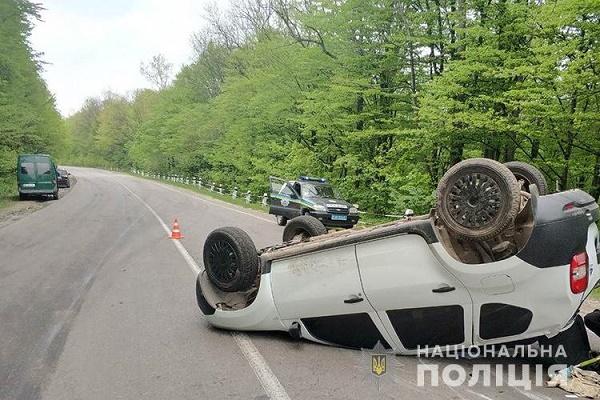 На Кременеччині зіткнулось три автівки