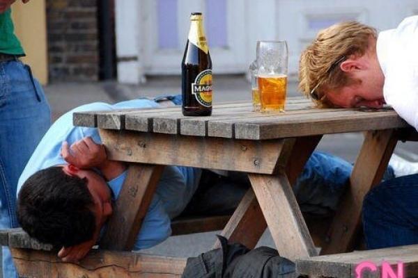 За п'янки в громадських місцях цього року оштрафували три сотні мешканців області