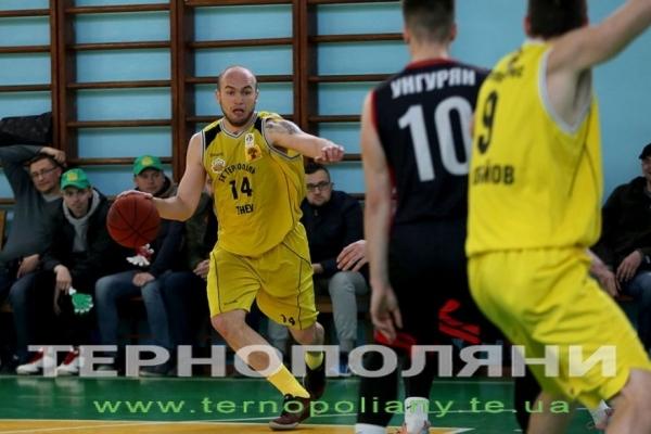 БК «Тернопіль-ТНЕУ» після ефектної перемоги над «Кривим Рогом» забезпечив собі срібло чемпіонату (Фото)