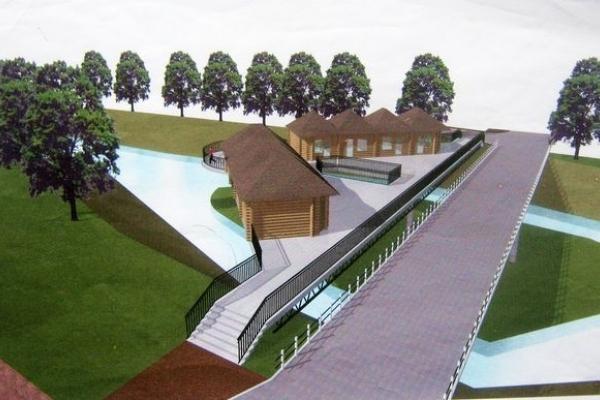 Чи буде новий пішохідний міст в центрі Теребовлі через річку Гнізна?