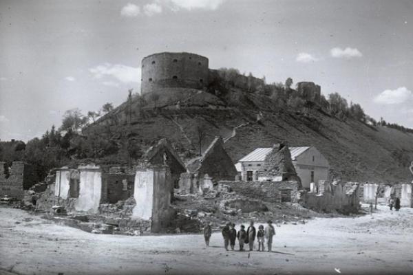 Теребовля на фото 1918 року